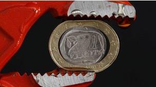 Um euro grego