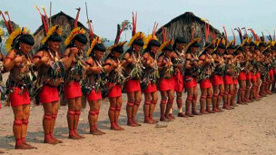Ritual Yaokwa. Foto: acervo Iphan