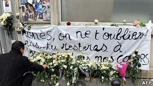Agnès Marin descansa en paz