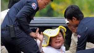 Penggusuran di Kamboja