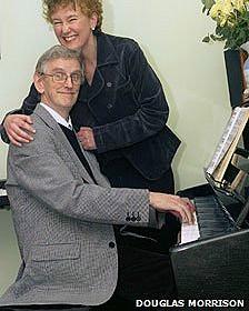 Clive Wearing y su esposa