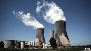 Usina nuclear na França, em foto de arquivo (AFP)