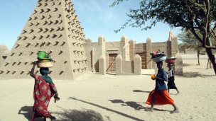 Mji wa Timbuktu, kaskazini mwa Mali