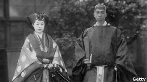 Una pareja japonesa de las de antes