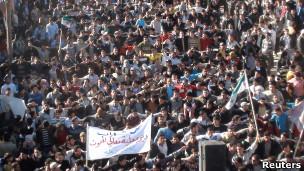تظاهرات ضد دولتی در سوریه