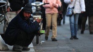 Người nghèo ở Bắc Kinh