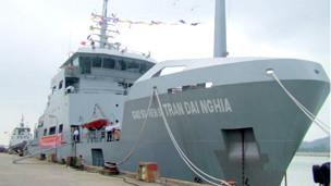 Tàu khảo sát Trần Đại Nghĩa của hải quân Việt Nam