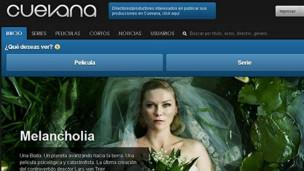 Cuevana reproduce series y películas