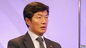 西藏流亡政府总理洛桑桑盖