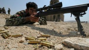 سرباز افغانستان