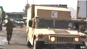 انتقال زخمی های انفجار کابل