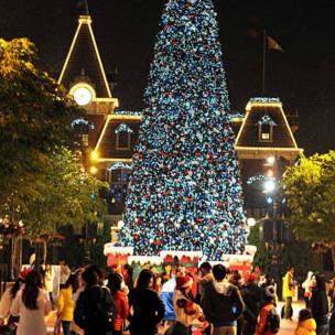 香港11月初圣诞灯饰就已亮起