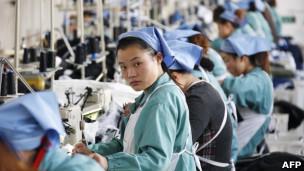 中国制衣业