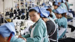 Trabajadoras en China