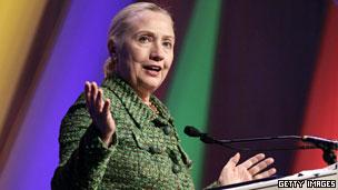 美國國務卿希拉里·克林頓(08/12/2011)