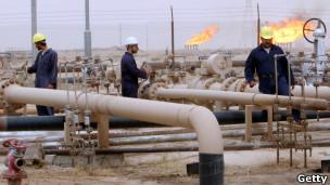 حقل نفطي عراقي