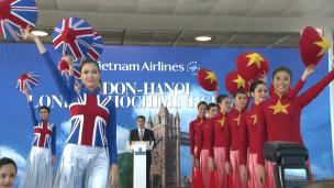 Khai trương đường bay trực tiếp Việt Nam - London 12/2012