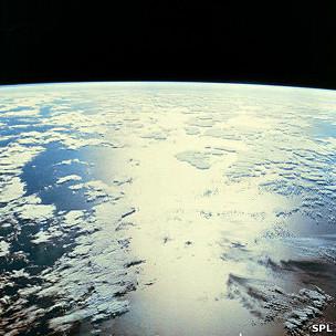 El Triángulo de las Bermudas desde el espacio
