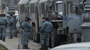 نیروهای پلیس ضد شورش روسیه