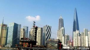 上海浦东陆家嘴金融贸易区