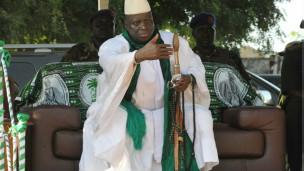Rais wa Gambia, Yahya Jamme