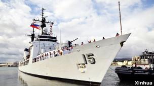 """美国赠送给菲律宾的""""德尔毕拉尔""""号巡逻舰"""