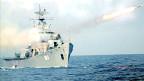 Tập bắn đạn thật hải quân trên Biển Đông