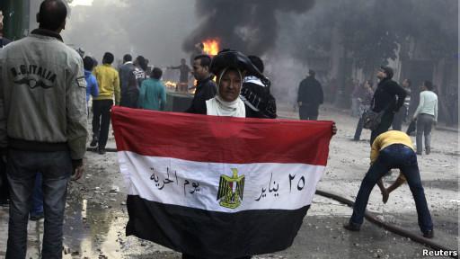 اشتباكات القاهرة 16/12/2011