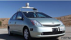 carros sin conductor de Google