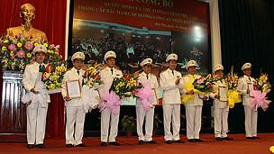 Lễ nhận quyết định thăng hàm Tướng CAND