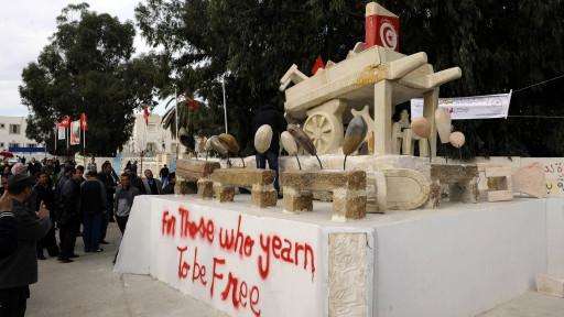 Patung gerobak Bouazizi