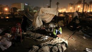 صدامات في ميدان التحرير