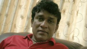 ஜனநாயக மக்கள் முன்னணியின் தலைவர் மனோ கணேசன்