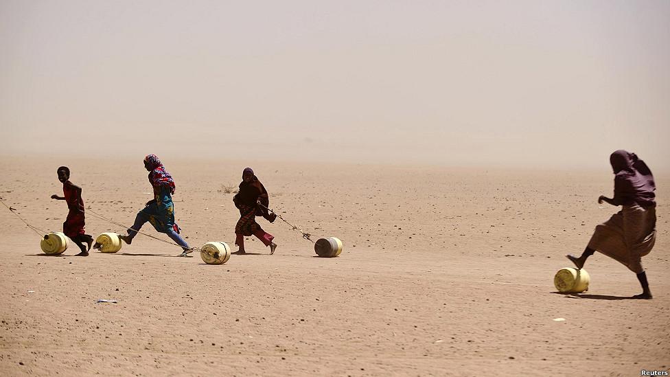 sequía en Somalia