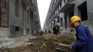 中國建房工地