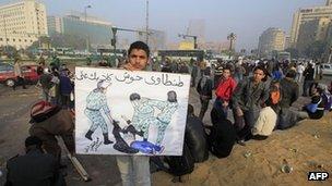 Pengunjuk rasa Mesir