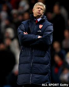 Arsene Wenger del Arsenal