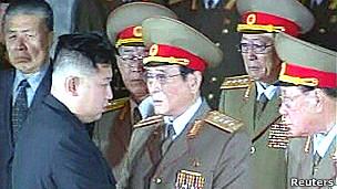 Đại tướng Kim Jong-un tiếp các tướng lĩnh đến viếng ông Kim Jong-il
