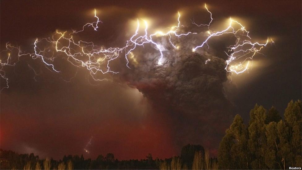 Volcán chileno Puyehue-Cordón Caulle