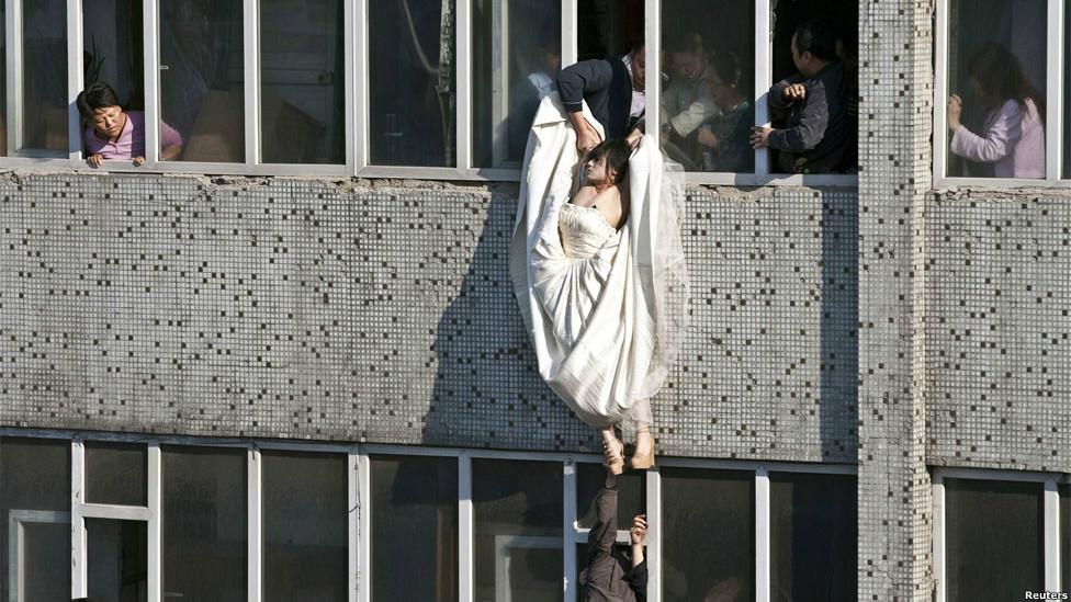 Intento de suicidio en China