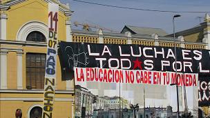 Protestas universitarias en Chile
