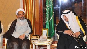 مصلحی و ولیعهد سعودی