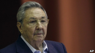 O presidente cubano Raúl Casto. | Foto: AP