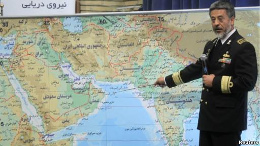 فرمانده نیروی دریایی ارتش ایران