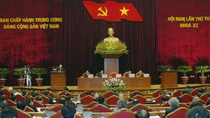 Phiên bế mạc Hội nghị trung ương 4