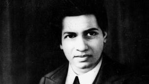 கணித மேதை சீனிவாச ராமானுஜன்