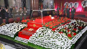 金正日的遺體將被安放在錦繡山紀念宮