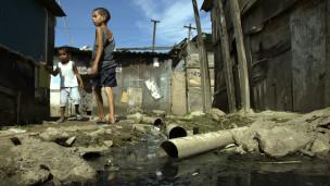 Favela em Manus, Foto BBC