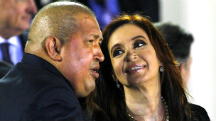 Tổng thống Chavez và Tổng thống Kirchner