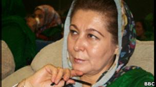 حسن بانو غضنفر، وزیر امور زنان